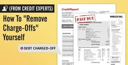 "(From Credit Experts) How To ""Remove Charge-Offs"" Yourself"