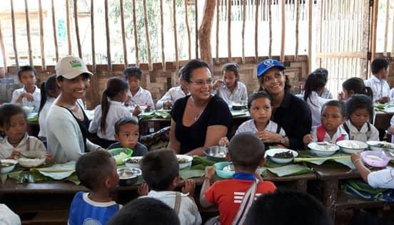 Freerice.com School Meals Photo