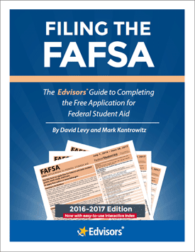 The cover of Filing the FAFSA