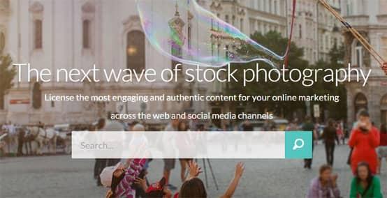 Foap Homepage