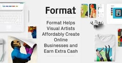 Format Helps Visual Artists Affordably Create Online Businesses and Earn Extra Cash