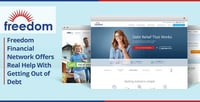 Freedom Financial Network Offers Tools to Help Get Out of Debt — Now with $5 Billion of Consumer Debt Resolved So Far