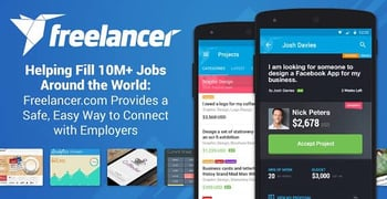 Freelancer Helping Fill Jobs Around The World