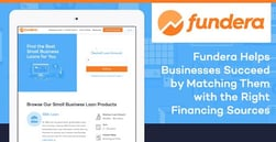 Fundera Helps Businesses Succeed by Matching Them with the Right Financing Sources