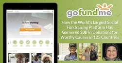 GoFundMe — How the World's Largest Social Fundraising Platform Has Garnered $3B in Donations for Worthy Causes in 125 Countries