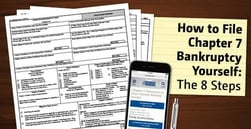 """How to File """"Chapter 7"""" Bankruptcy Yourself 
