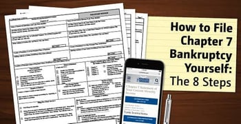 "How to File ""Chapter 7"" Bankruptcy Yourself 