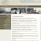 National Poverty Center