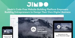 Jimdo's Code-Free Website Building Platform Empowers Budding Entrepreneurs to Design Their Own Digital Business
