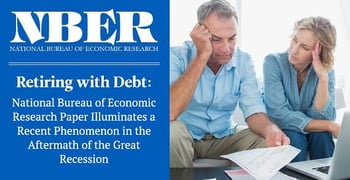 Nber Research Finds Older Americans Increasingly In Debt