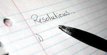 5 New Years Resolutions People Bad Credit