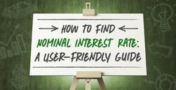 "How to Find ""Nominal"" Interest Rate 