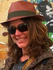 Headshot of Nora Dunn, The Professional Hobo
