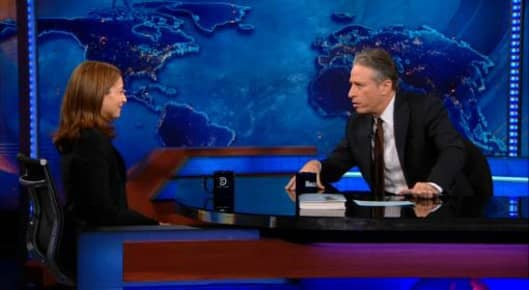 Olen on The Daily Show with Jon Stewart