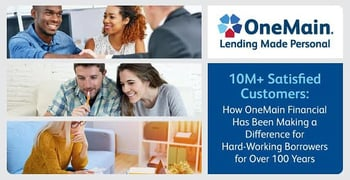 Onemain Financial Makes A Difference For Hard Working Borrowers