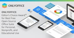 ONLYOFFICE: Editor's Choice Award™ for Best Free Open-Source Office Suite for Personal, Nonprofit, and Educational Use