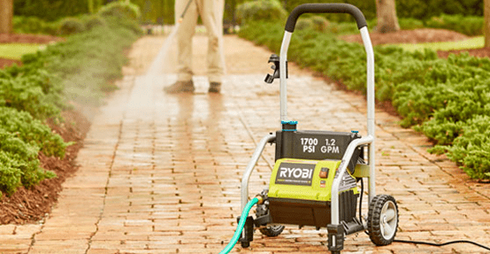 Photo of a Ryobi Pressure Washer
