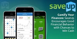 Gamify Your Finances: SaveUp Encourages Good Financial Behavior with Chances to Win Cash