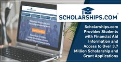 Scholarships.com® Provides Students with Financial Aid Information and Access to Over 3.7 Million Scholarship and Grant Applications