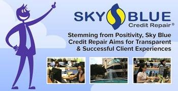 Sky Blue Credit Repair Client Experiences