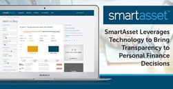 SmartAsset™ Leverages Technology to Bring Transparency to Personal Finance Decisions