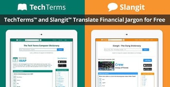 Techterms And Slangit Translate Financial Jargon For Free