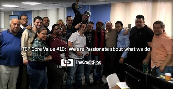 The Credit Pros Team Photo