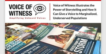Voice Of Witness How Storytelling Gives A Voice To The Underserved