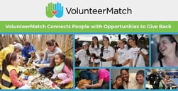 Donating Time is as Valuable as Money — VolunteerMatch Connects People with Opportunities to Serve Their Communities and Better Themselves