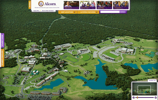 VIrtual Tour for Alcorn State University on CampusTours