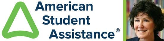 Collage of the American Student Assistance Logo and a Portrait of Jean Eddy, President and CEO
