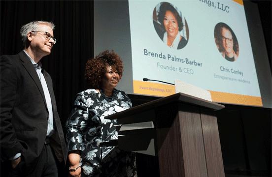 Image of Sweet Beginnings CEO Brenda Palms Barber