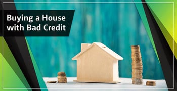 3 Easy Steps for Buying a House with Bad Credit