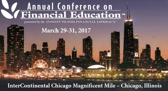 Screenshot of the Annual Conference on Financial Education