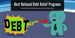 3 Best National Debt Relief Programs