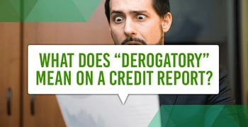 Derogatory Mean Credit Report