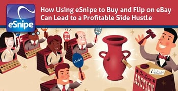 Using Esnipe To Buy And Flip Can Lead To A Profitable Side Hustle
