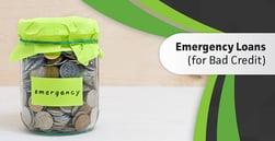 8 Emergency Loans for Bad Credit