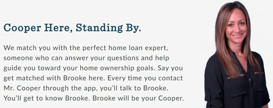 Screenshot from the Mr. Cooper Home Intelligence Page