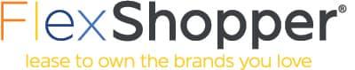 FlexShopper Logo and Slogan