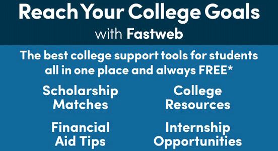 Image of a Fastweb poster for educators