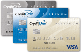 Photo of Credit One Bank credit cards