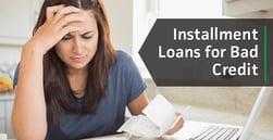 4 Installment Loans for Bad Credit (2020) | Apply Online