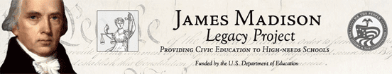 Banner for The James Madison Legacy Project