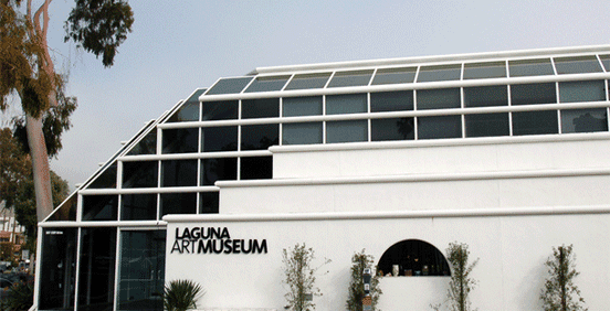 Image of the Laguna Art Museum Facade