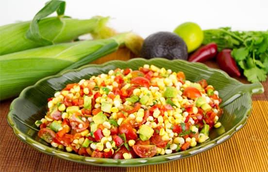 Photo of Mexican Corn and Avocado Salad