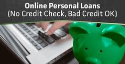 8 Online Personal Loans (No Credit Check, Bad Credit OK)