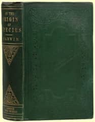 Image of a Copy of On the Origin of Species by Charles Darwin