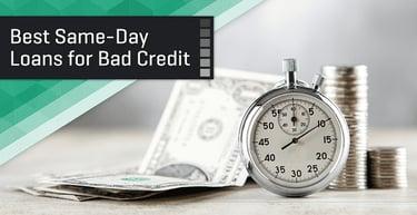 5 Same Day Loans For Bad Credit Online 2021 Badcredit Org