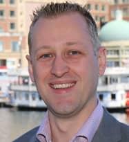 Portrait of Jasper van der Hoek, Enterprise Architect at Mendix